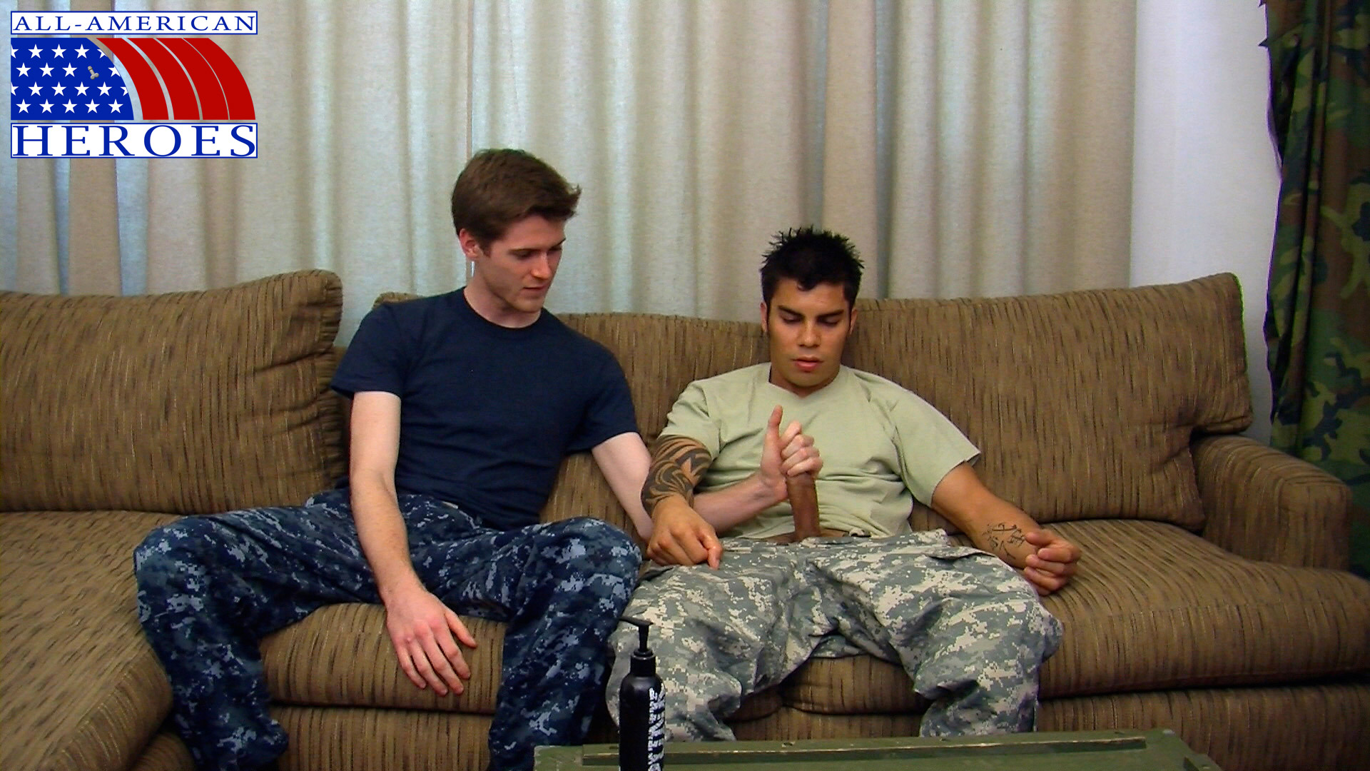 All-American-Heroes-Sergeant-Tony-and-Petty-Officer-Conan-01 Real Straight Army Sergeant Fucks a Gay Navy Petty Officer