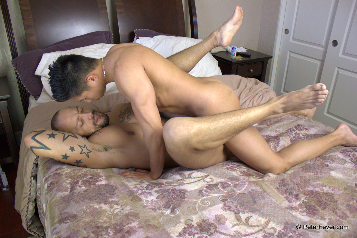 Peter-Fever-Jessie-Lee-and-Jordano-Latino-and-Asian-fucking-Amateur-Gay-Porn-15 Amateur Muscle Asian Hunk Fucks A Hot Latino Stud Hard