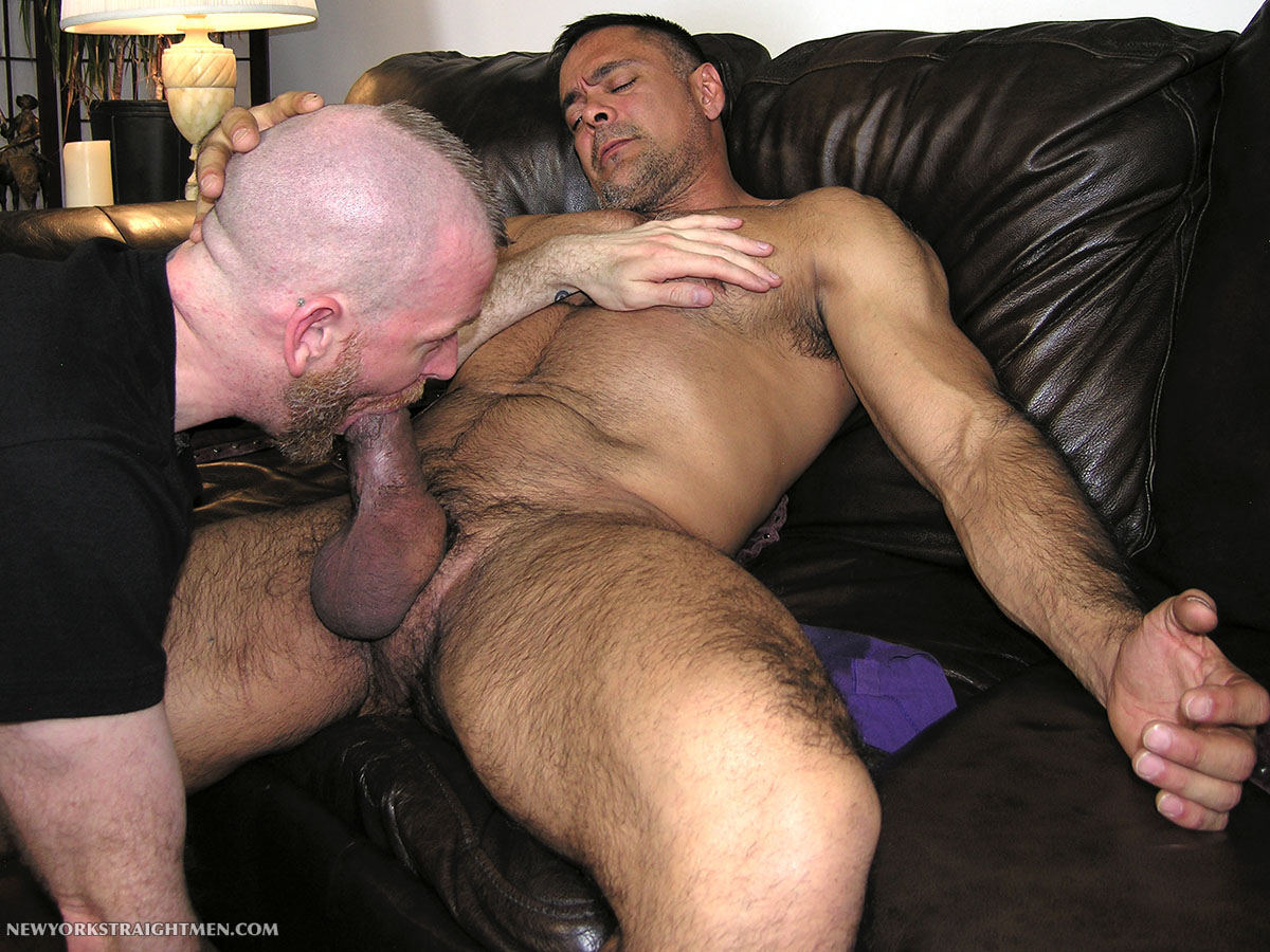 New-York-Straight-Men-Dale-and-Vincent-Latino-Daddy-Thick-Cock-Sucking-Amateur-Gay-Porn-10 Straight Latino Daddy With A Huge Thick Cock Gets Serviced By A Gay Guy