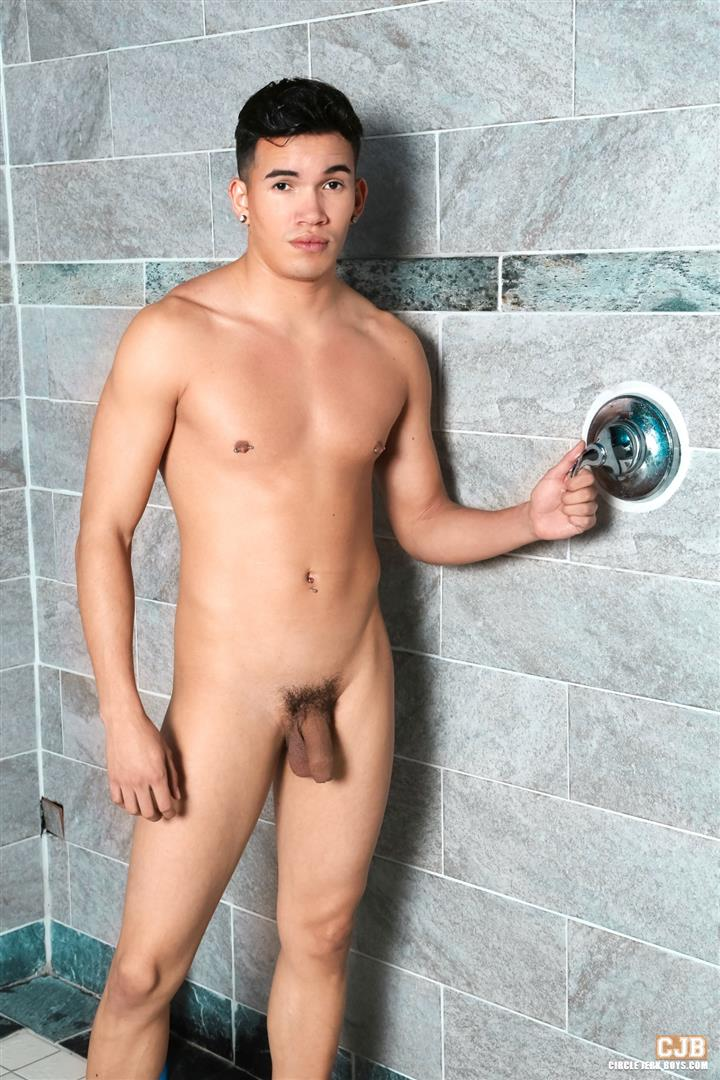 Circle-Jerk-Boys-Liam-Troy-Young-Hispanic-Guy-Jerking-His-Big-Uncut-Cock-Amateur-Gay-Porn-04 Young Latino Twink Jerking His Big Uncut Cock In The Dorm Showers