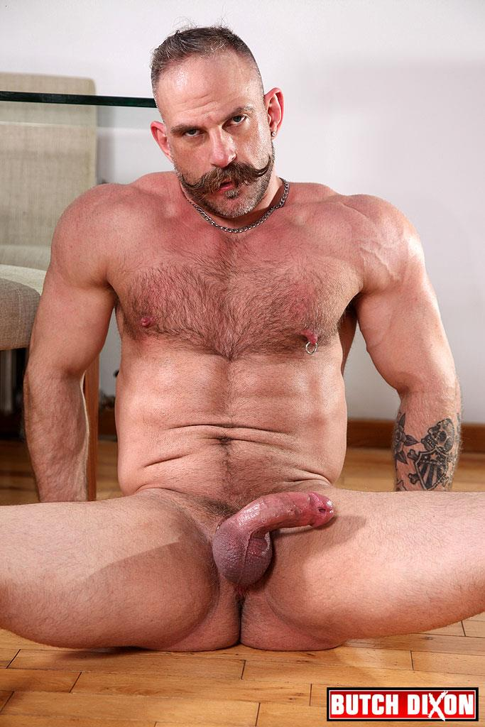 Butch-Dixon-Samuel-Colt-and-Frank-Valencia-Hairy-Muscle-Daddy-Getting-Fucked-By-Latino-Cock-Amateur-Gay-Porn-22 Happy Fathers Day: Hairy Muscle Daddy Samuel Colt Taking A Big Cock Up The Ass