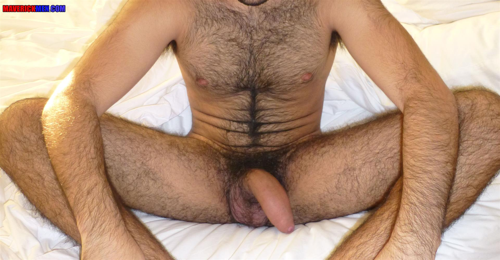 Maverick-Men-Little-Wolf-Hairy-Guy-With-Big-Uncut-Cock-Getting-Barebacked-By-Two-Daddies-Gay-Porn-09 Hairy Ass Young Guy Getting Barebacked By The Maverick Men