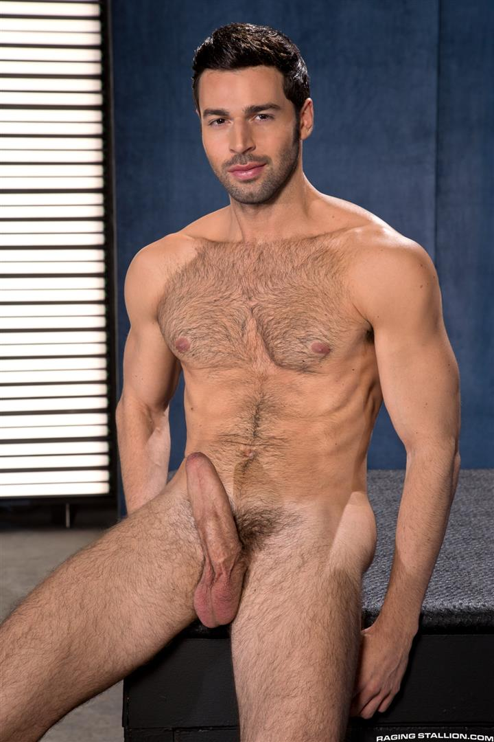Raging Stallion Adam Ramzi and Dario Beck Hairy Ass And A Big Uncut Cock Amateur Gay Porn 04 Fucking A Hairy Ass Muscle Jock Ass With A Big Uncut Cock