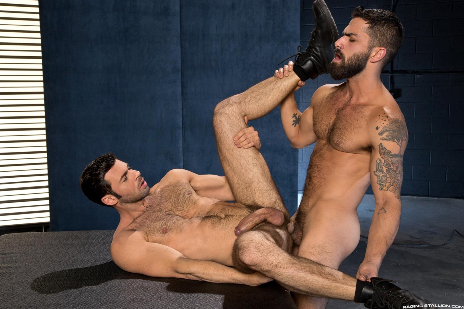Raging Stallion Adam Ramzi and Dario Beck Hairy Ass And A Big Uncut Cock Amateur Gay Porn 14 Fucking A Hairy Ass Muscle Jock Ass With A Big Uncut Cock