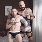 Fuckermate Carlo Fiero and Dalton Sirius Big Uncut Cock Bareback Amateur Gay Porn 1 150x150 Tatted Muscled Spaniard Gets Barebacked By A Huge Uncut Cock